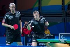 2016_RIO_Paralympics_Tischtennis_Gardos_Fraczyk_002_Foto_OEPC_Baldauf