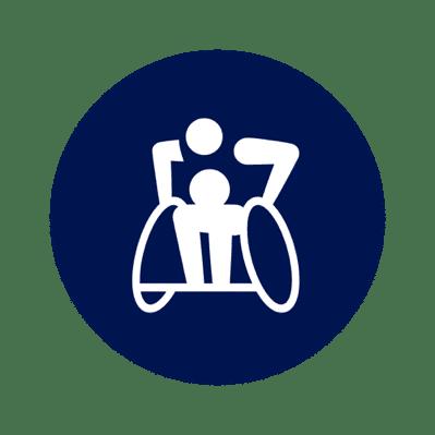 Rollstuhl-Rugby