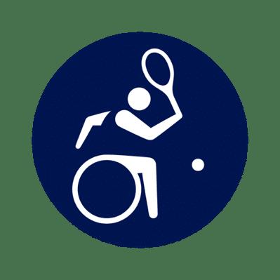 Rollstuhl-Tennis