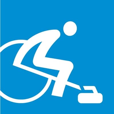 Rollstuhl Curling