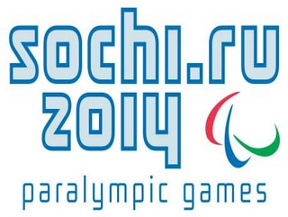Abbildung des Logos der Paralympischen Spiele SOCHI 2014