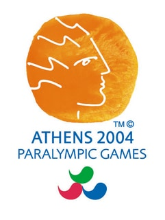Abbildung des Logos der Paralympischen Spiele ATHEN 2004
