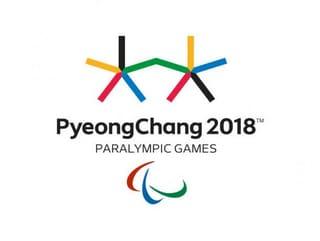 Abbildung des Logos der Paralympischen Spiele PYEONGCHANG 2018