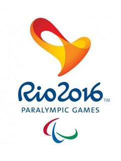 Abbildung des Logos der Paralympischen Spiele RIO 2016