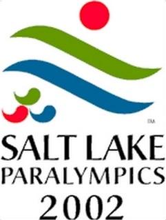 Abbildung des Logos der Paralympischen Spiele SALT LAKE CITY 2004