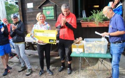 17. Kammersteiner Berglauf: Großzügige Spende an ÖPC