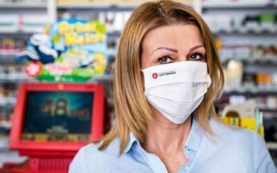#wirtragenmaske: Lotterien verteilen 15.000 Masken