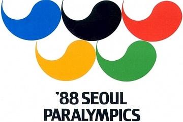 Abbildung des Logos der Paralympischen Spiele SEOUL 1988
