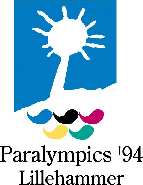 Abbildung des Logos der Paralympischen Spiele LILLEHAMMER 1994