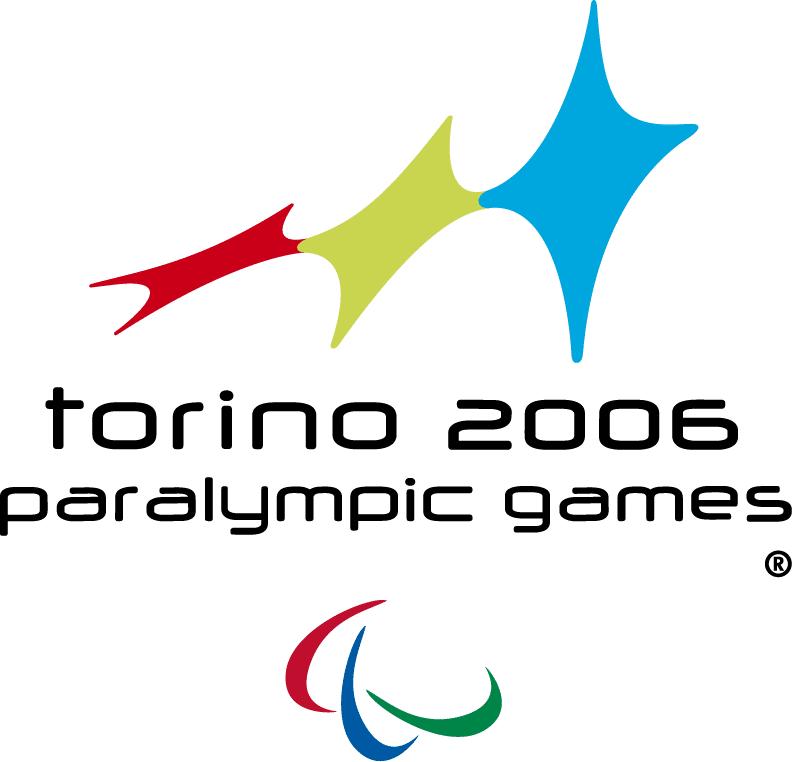 Abbildung des Logos der Paralympischen Spiele TURIN 2006