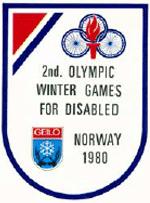 Abbildung des Logos der Paralympischen Spiele GEILO 1980