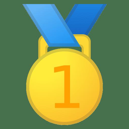 Abbildung Goldmedaille