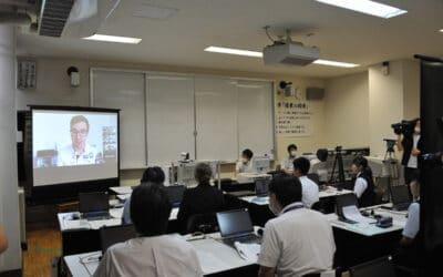 Andreas Onea inspiriert japanische Schüler