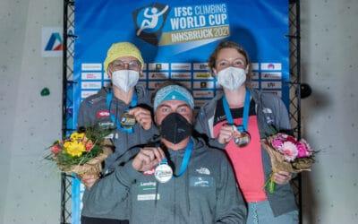 Drei KVÖ-Podestplätze bei Paraclimbing-Weltcuppremiere