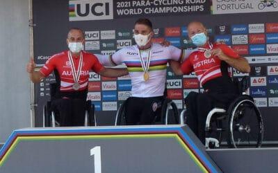 Drei Medaillen bei der Paracycling-WM