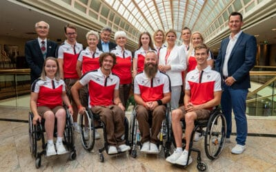 Festakt vor Tokyo: Paralympic Team Austria verabschiedet und vereidigt
