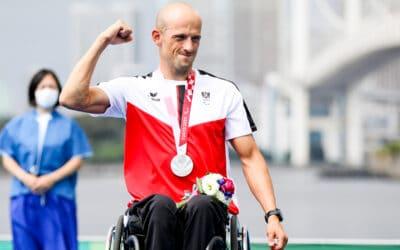 Brungraber strahlt mit Silbermedaille um die Wette