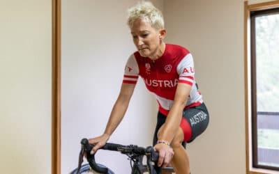 Marzinke eröffnet für das Paralympic Team Austria