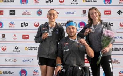 WM: Paraclimbing-Team sorgt für Medaillenregen