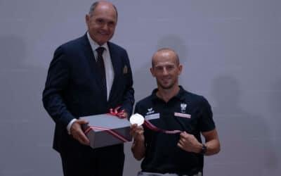 Paralympic Team Austria zu Besuch im Parlament