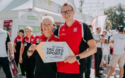 Jubiläums-Tag des Sports: Selfies, Stars und Autogramme