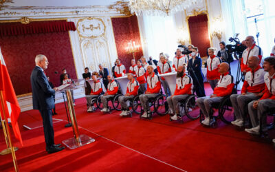 Großartiger Empfang in der Hofburg